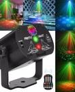 Disco lamp/laser op (draadloos of usb)
