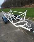 Kielboot trailer