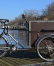 Christiania driewiel bakfiets met ruime, afsluitbare bak. Ideaal voor spullen
