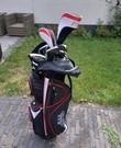 Golfset met tas
