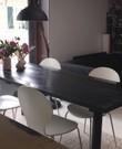 Eettafel, zwart steigerhout