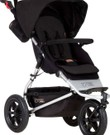 Mountain buggy met regenhoes