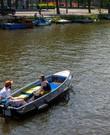 Boot met elektrische motor