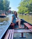 Mooie, ruime, stille,  grachten boot te huur! (7/8 personen)