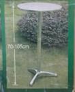 2 statafels in doos, demontabel, in hoogte verstelbaar (70 en 105 cm) en blad inklapbaar.