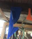 Simpel behangtafeltje  opklapbaar met wat gereedschap