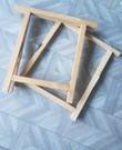 2 houten Schragen