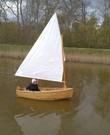Zeilboot 1 persoons piraatje