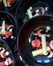 Stijlvolle zwarte borden tot 45 stuks