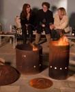 Vuurkorf - Industriele vuurton (2 stuks)