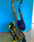 Tenor of Sopraan (gebogen) saxofoons