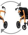 Rollz Motion opvouwbare rolstoel en rollator