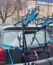 Fietsendrager achterop de auto (3 fietsen tot 45kilo)