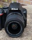 Spiegelreflexcamera Nikon D3500 + Kit lens 18-55mm