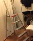 Ladder, voor behangen enz.