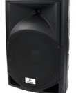 Speakers (2x 400watt, actief)