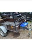 Aanhangwagen 750kg