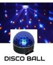 DMX disco bal