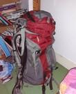 Dames backpack 60L kleine rug