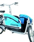 Gazelle Cabby met Maxi-Cosi adapters