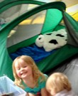 Kinderbed outdoor / indoor / camping