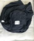 Baby K'tan Draagdoek - zwart - maat XL