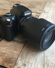 Spiegelreflexcamera met SD card 4 GB