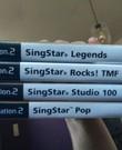 Singstar voor PS2 + micro's