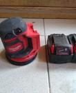 Roterende schuurmachine op batterij