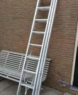 Ladder 3-delig, uitschuifbaar tot 5,6 meter