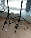 Led light suite for video shooting with a stand, led licht voor video-opnamen met een stand