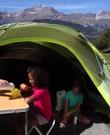 Tent 3 personen, 7 seconden tent Quechua met luifel