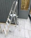 4 trede + plateau ladder