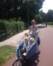 Gazelle Gabby bakfiets (versnellingen, fietstas, houder voor maxicosi aanwezig, inklapbaar, fietst licht)