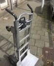 Aluminium Steekwagen die omgebouwd kan worden tot kar