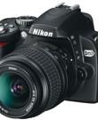 Spiegelreflexcamera Nikon D60 met draagtas