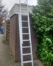Uitschuifbare ladder max 6,31 mtr