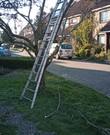 Door Arbeidsinspectie goedgekeurde opsteekladder (uitschuifbaar in 2 delen van elk 3,30 meter)