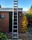 Ladder: 3-delige schuifladder (8 meter)
