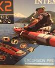 Coronaproof uitje! Kano kajak opblaasbaar Excursion Pro K2 Intex 2 personen