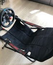 Playseat met racestuur, pedalen en F1 2020