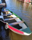 Bootje grachtenbootje elektrisch 5 personen
