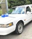 Vintage limousine te huur met chauffeur