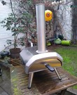 Hout Pizza oven