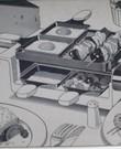 Gourmet-gril-raclette set