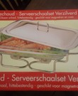 Rechaud / chafing dish / warmhoudschaal