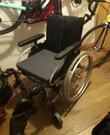 Opvouwbare rolstoel