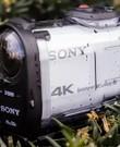 4K action cam - Sony x1000v