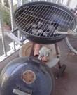 Houtskoolbarbecue