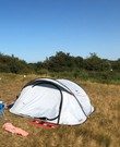 Tent - Quechua Pop Up 3 pers Fresh and Black